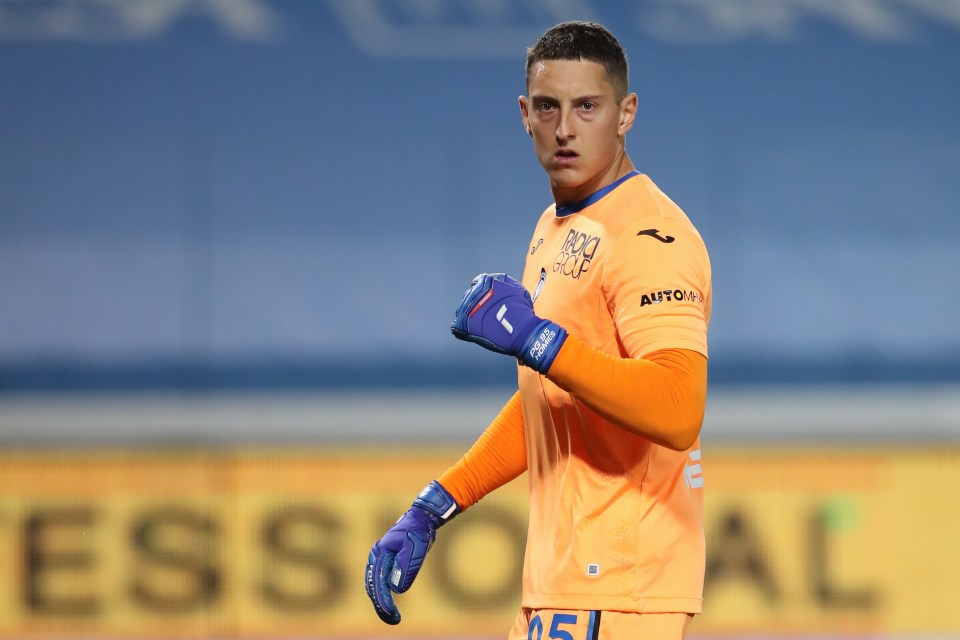 Gollini is expected to sign a loan deal with Spurs today