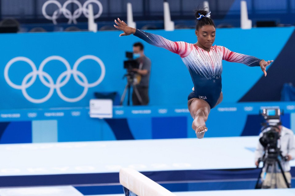 Biles suffered from 'twisties' at Tokyo 2020