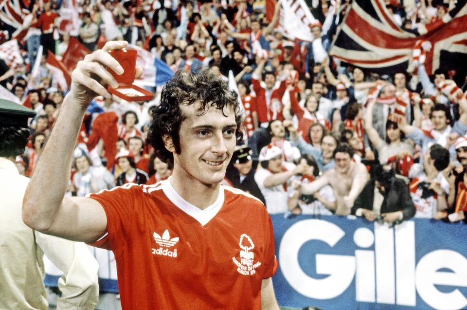 Trevor Francis was the first £1million player in British football