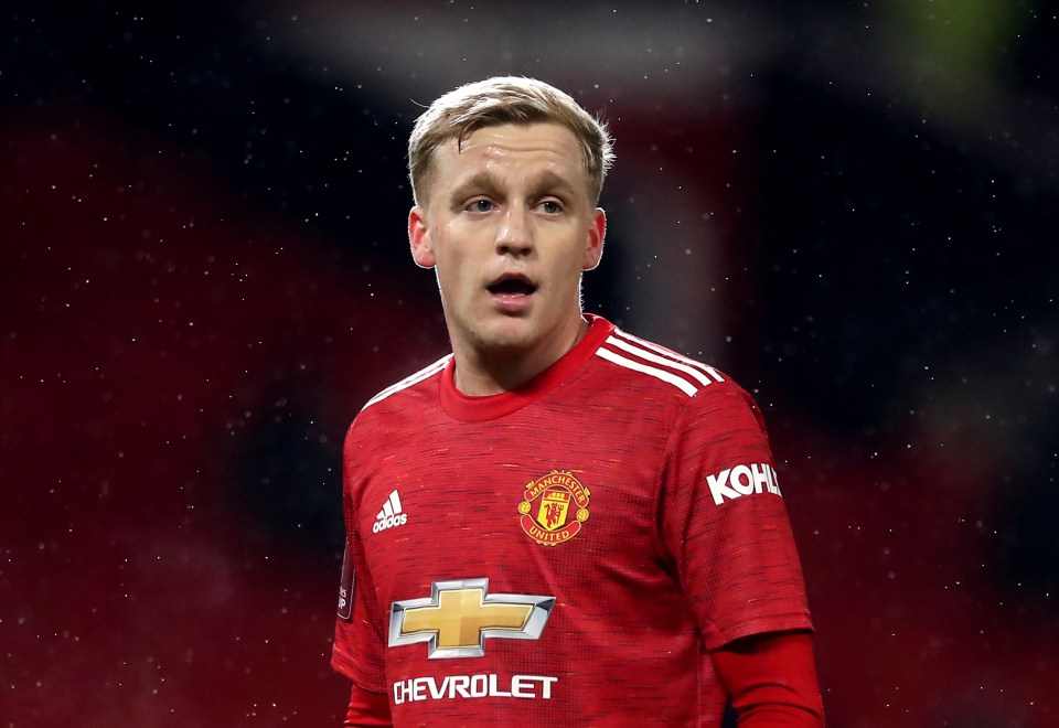 The 24-year-old arrived at Man United much skinnier than he is now