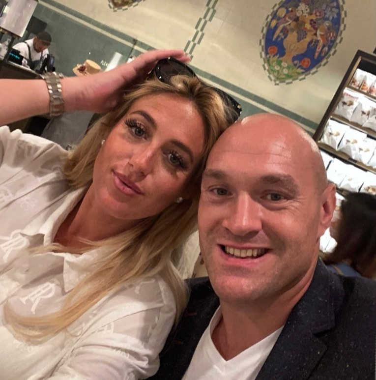 Tyson Fury has been spending valuable time with his family but said he will still be ready to fight 'a mug' like Deontay Wilder for their trilogy