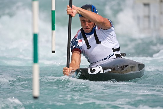 Go with the flow: success of Olympic champion Joe Clarke has boosted the brand