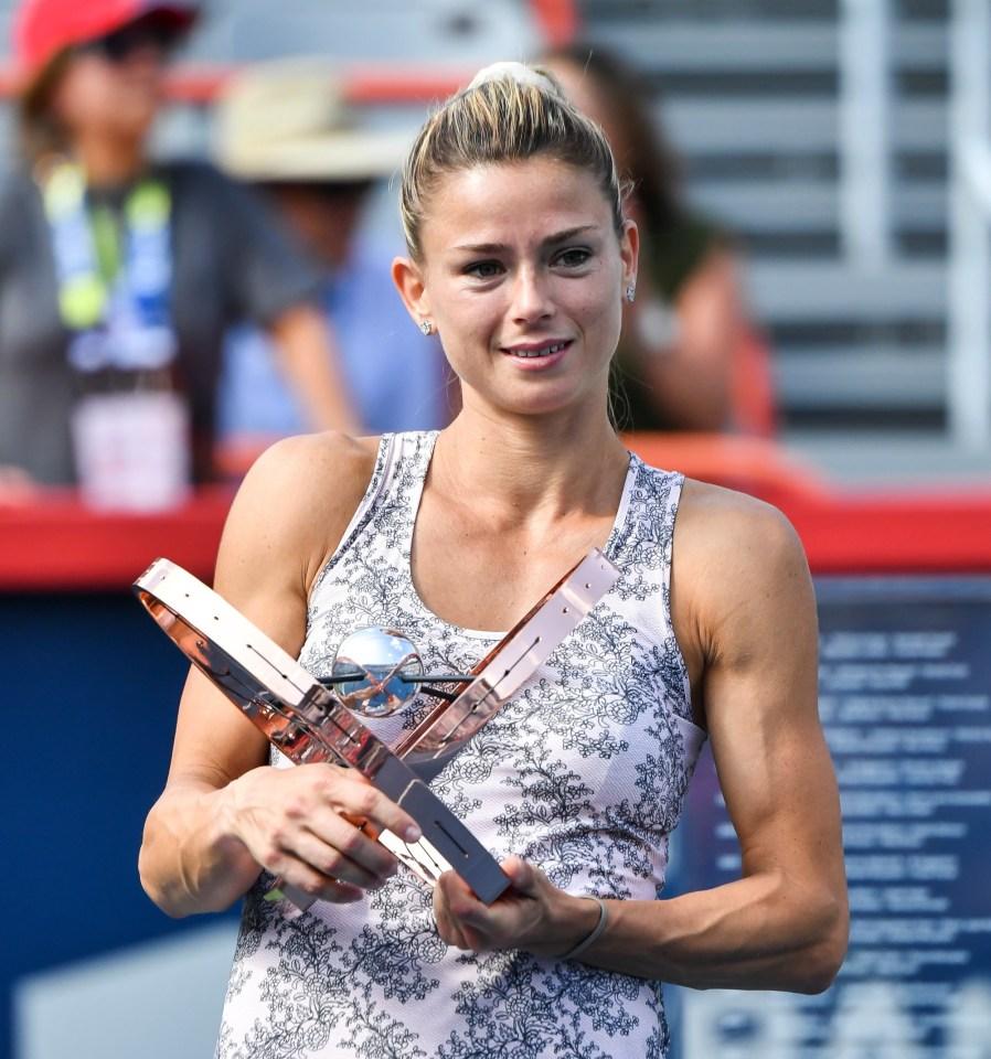 Giorgi has three Tour titles to her name