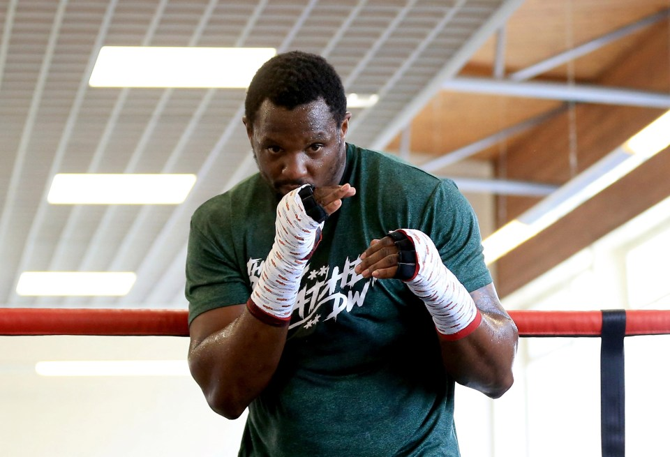 Dillian Whyte is ready to step in on October 9