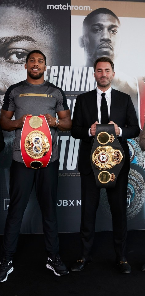 And Eddie Hearn is hoping Fury wins so that the fight with Anthony Joshua can be successful