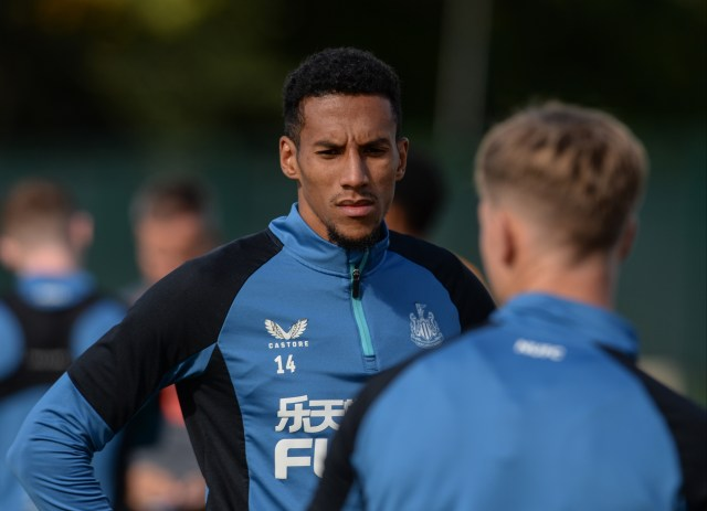 Bruce is also said to have angered Isaac Hayden by criticising his handling of Cristiano Ronaldo