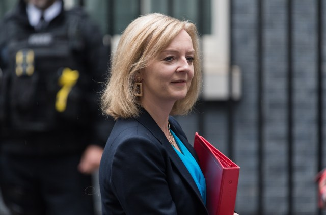 Liz Truss attending Cabinet yesterday