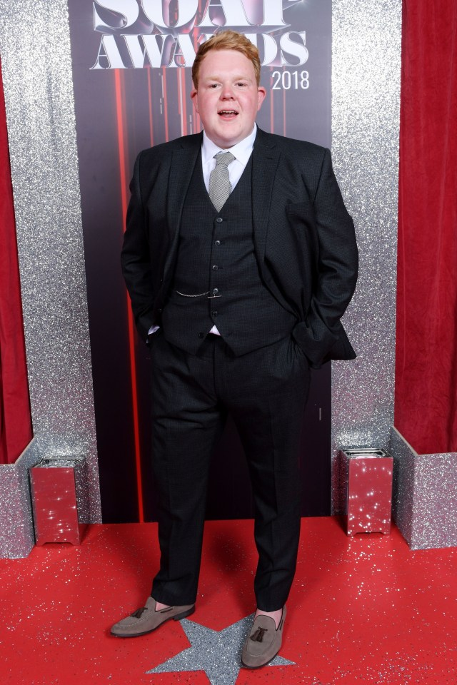 The soap star has shed an impressive 10 stone since changing his life style