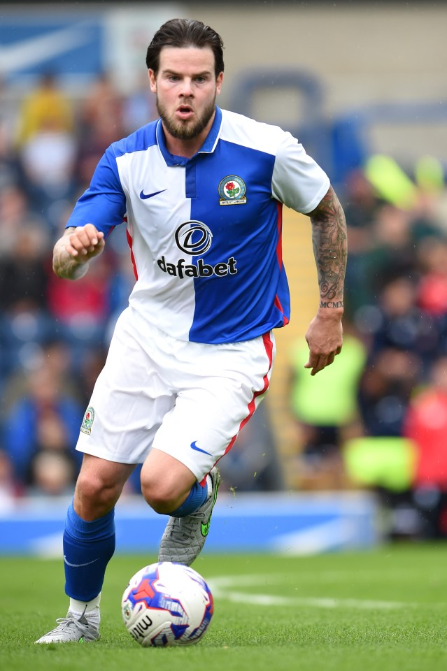 Businessman Chris Heath, who lent money to Danny, here playing for Blackburn Rovers, said 'I asked him numerous times to repay the bridging loan but he refused'