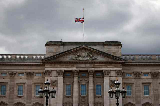 Flags will fly at half-mast after the monarch's death is announced, the documents reveal