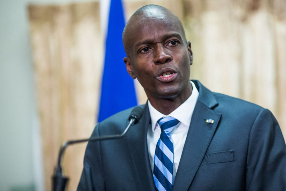 President Jovenel Moïse was assassinated in his home on July 7