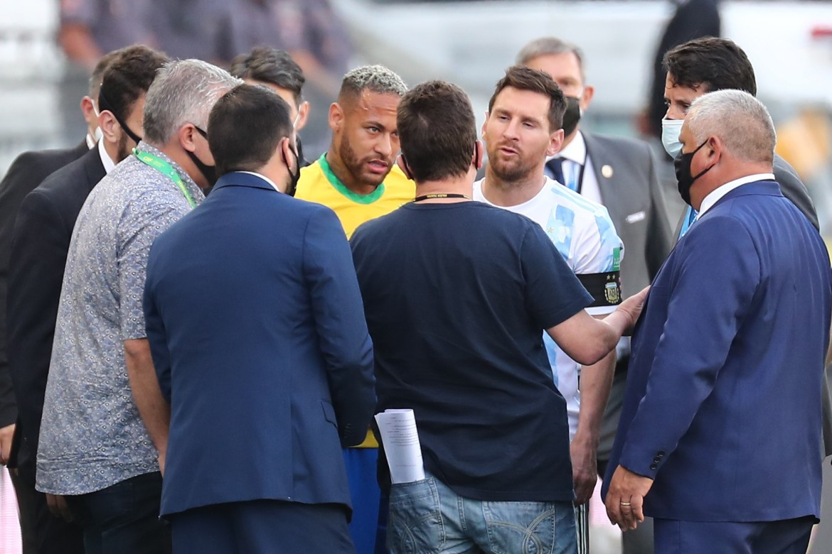Brazil vs Argentina in Covid-19 chaos as local health chiefs stop game after  six minutes to DEPORT Premier League stars