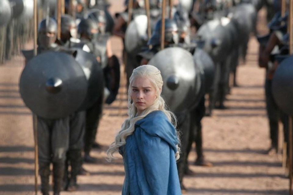 HBO series Game Of Thrones polled highly in the most-watched TV
