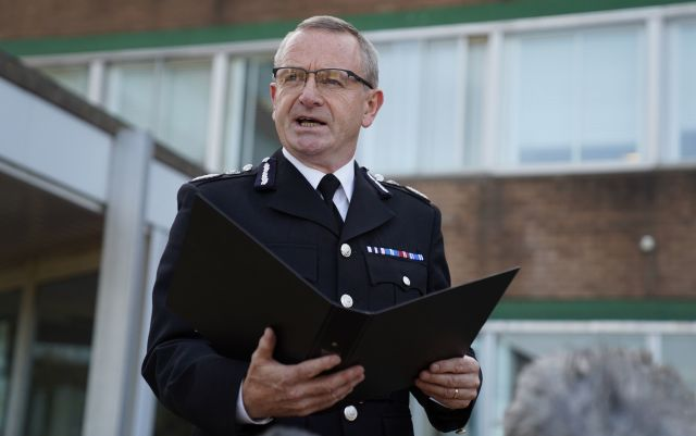 Chief Constable Iain Livingstone apologised on behalf of Police Scotland