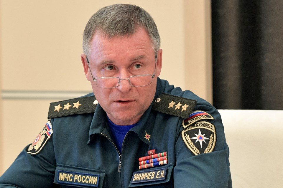 Zinichev, an army general and former KGB officer, had been tipped as a possible successor to Putin