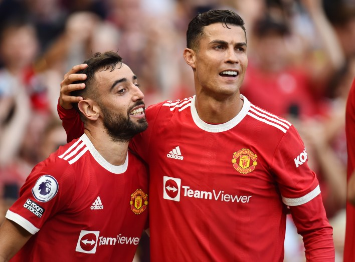Red Devils fans will be hoping Ronaldo and Fernandes can lead them to this season's title
