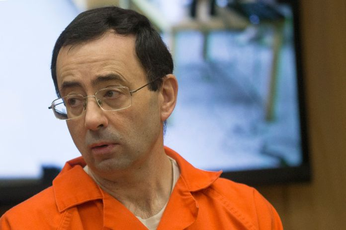 Former doctor Nassar was sentenced to 175 years in prison after being convicted of sexually abusing athletes