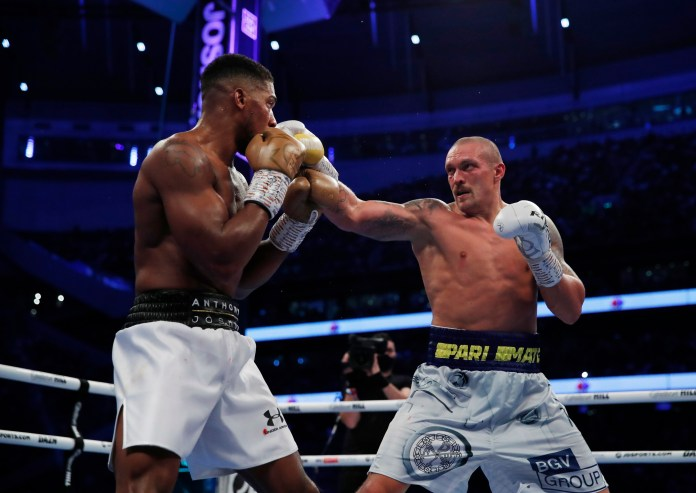 Usyk beats Anthony Joshua at Tottenham Hotspur Stadium