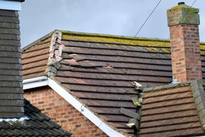 About 20 homes are believed to have been damaged