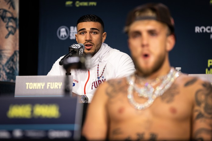 Tommy Fury and Jake Paul in talks to fight for the end of the year