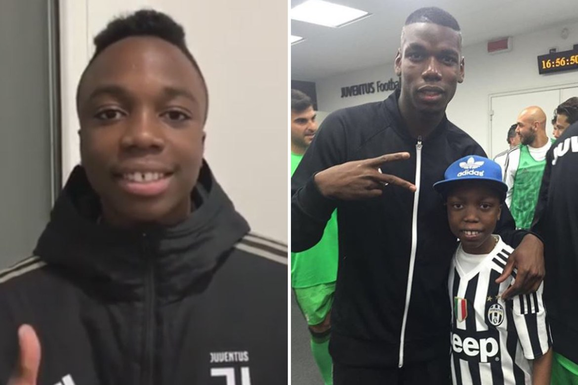 Juventus kid Bryan Dodien dies after long cancer fight two years after Paul  Pogba hailed debut