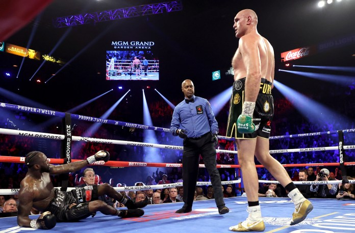 Deontay Wilder was defeated by Tyson Fury in their rematch
