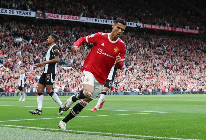 Cristiano Ronaldo buried a brace on his return to Manchester