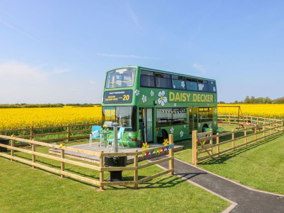 Daisy Decker in East Riding, Yorkshire is designed for comfy family stays of up to 5 people