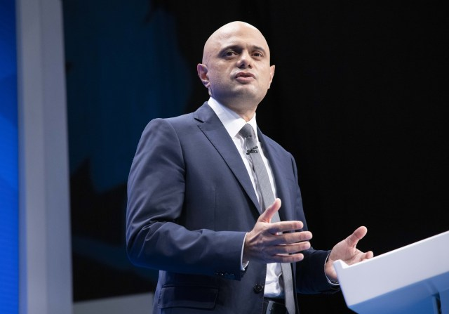 Sajid Javid said: 'I am determined to ensure patients can see their GP in the way they want, no matter where they live'
