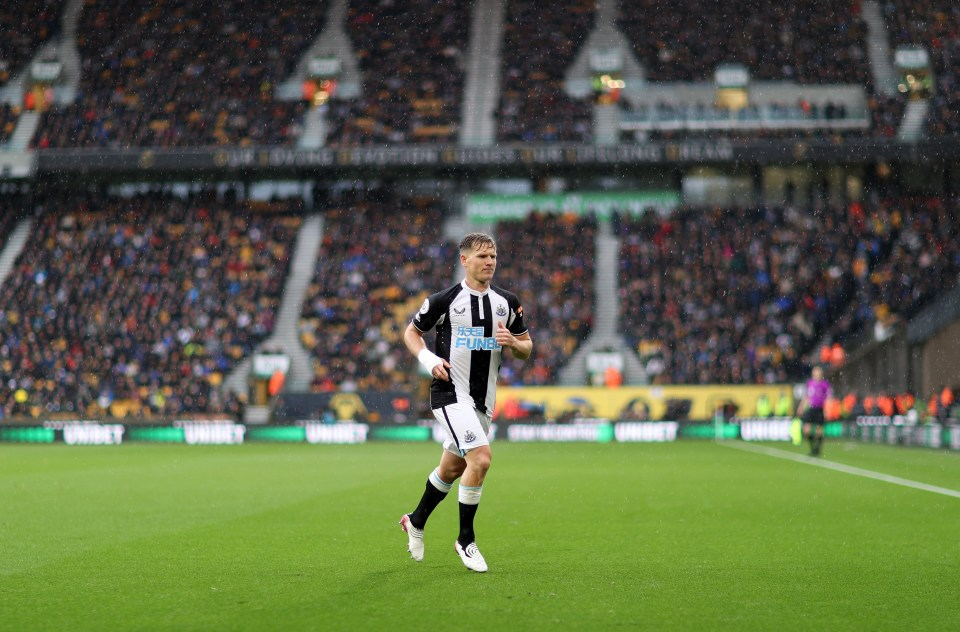 Ritchie has been deployed as a win-back this season by boss Bruce
