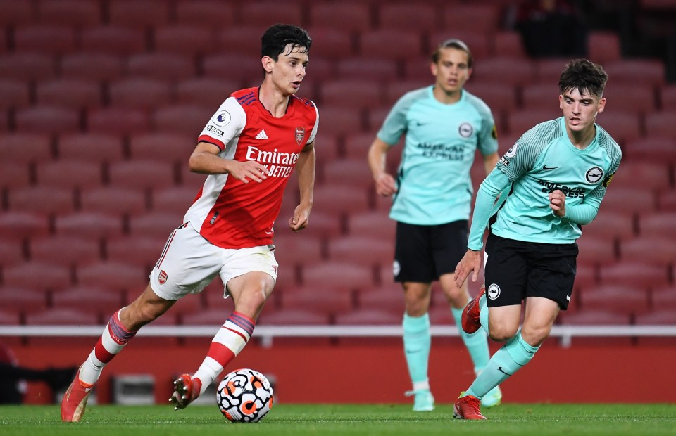 Charlie Patino is really highly rated at the Emirates
