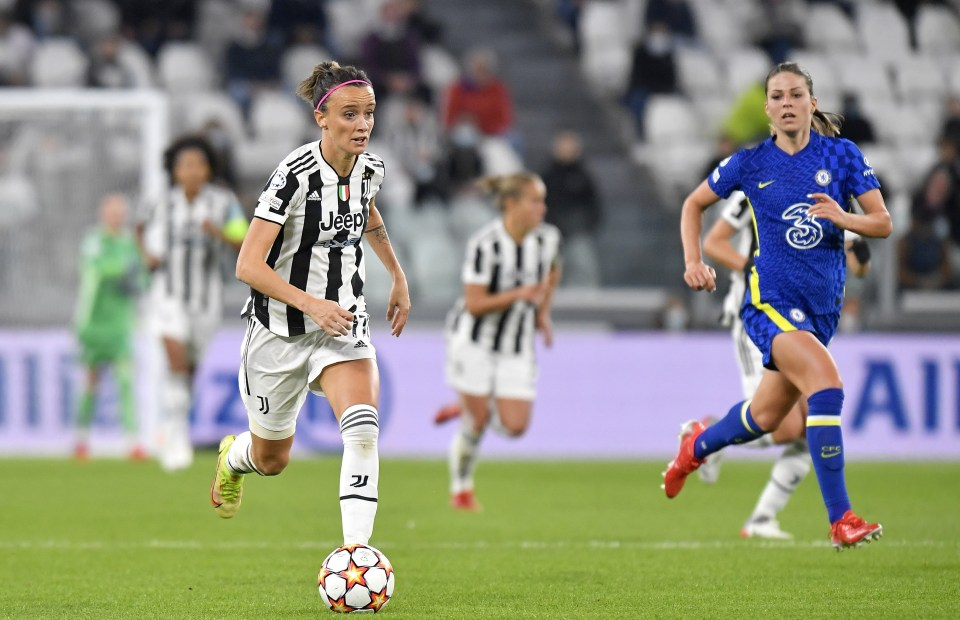 Barbara Bonansea pulled a goal back for Juventus in the first half
