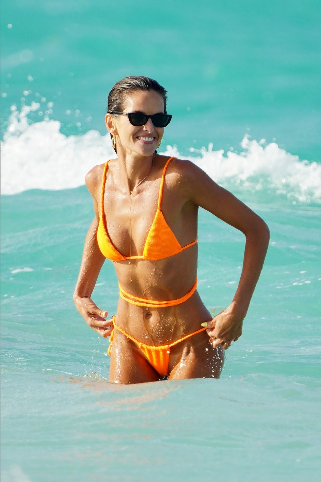 The Brazilian supermodel is used to turning heads in skimpy bikinis while on holidays