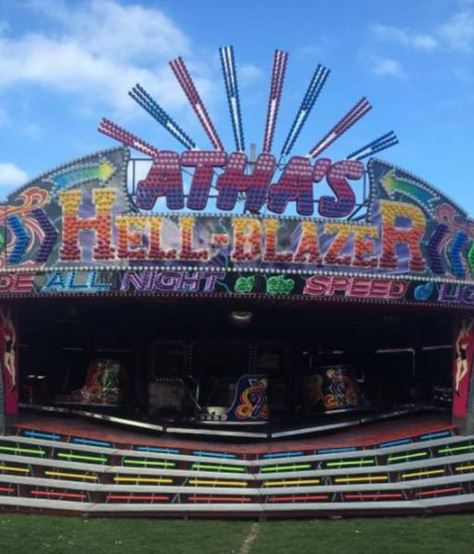 The accident happened at Gilberdyke funfair
