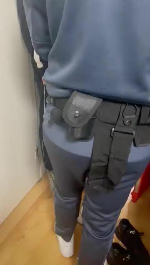 The men had put on fake police uniforms