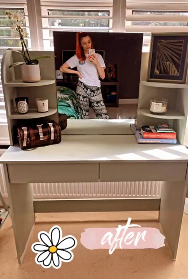 There's also a stunning dresing table for Dianne's things
