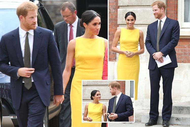 Meghan Markle and Prince Harry back to holding hands as ...