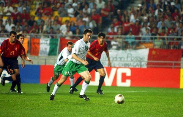 Gaizka Mendieta reveals admiration for Robbie Keane after Republic ...