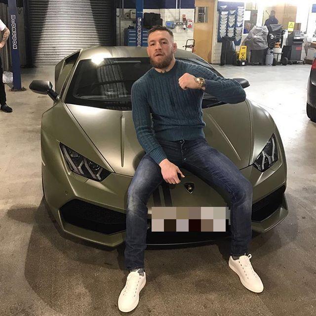 Conor loves high-end motors like BMW and Lamborghini
