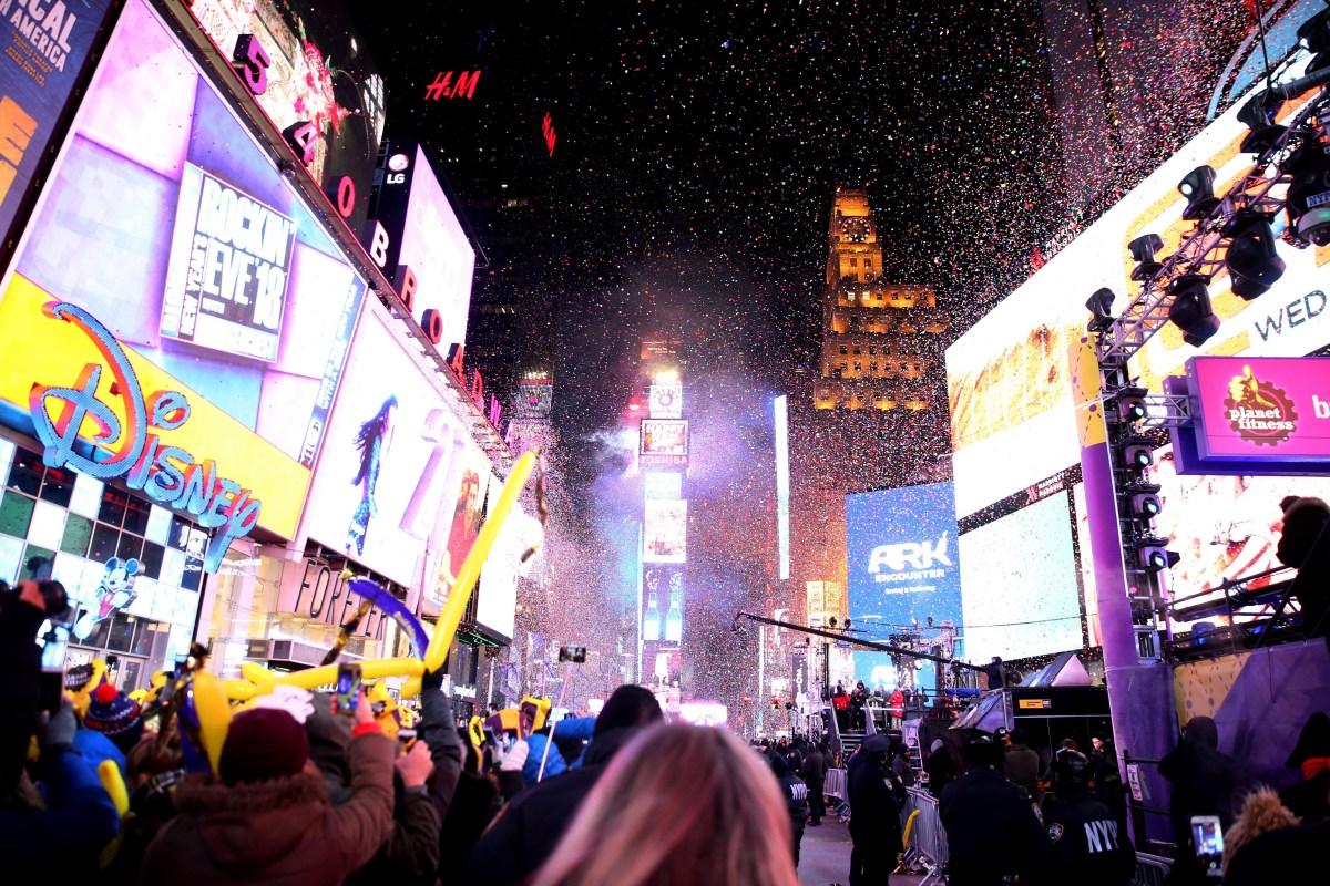 New Year's Eve - New York police will deploy drone-killing ...