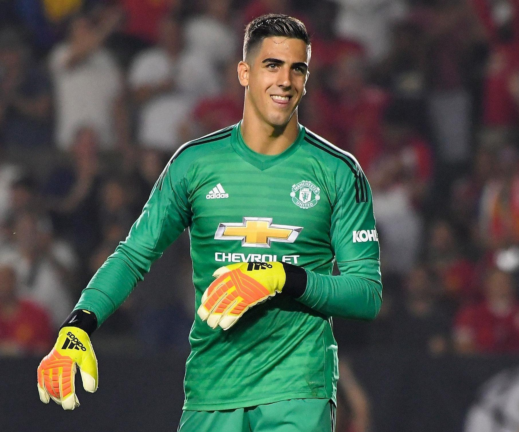 Man Utd Keeper Joel Pereira To Sign For Reading On Loan