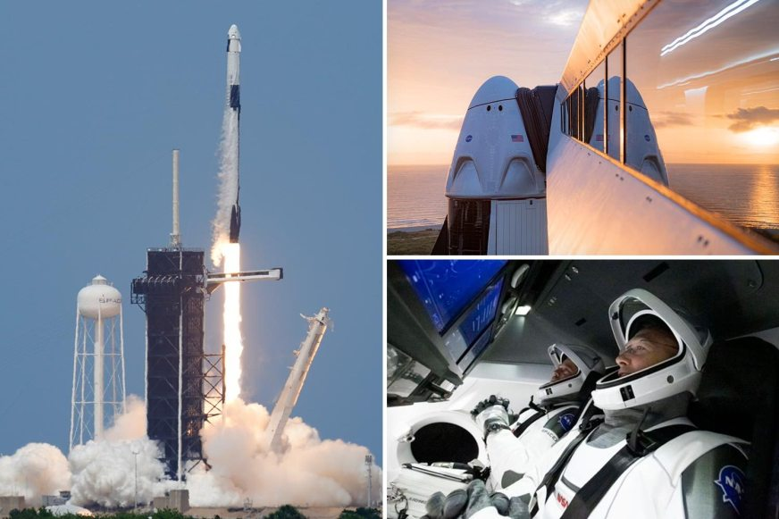 SpaceX and NASA launch RECAP: Crew Dragon spacecraft heads ...