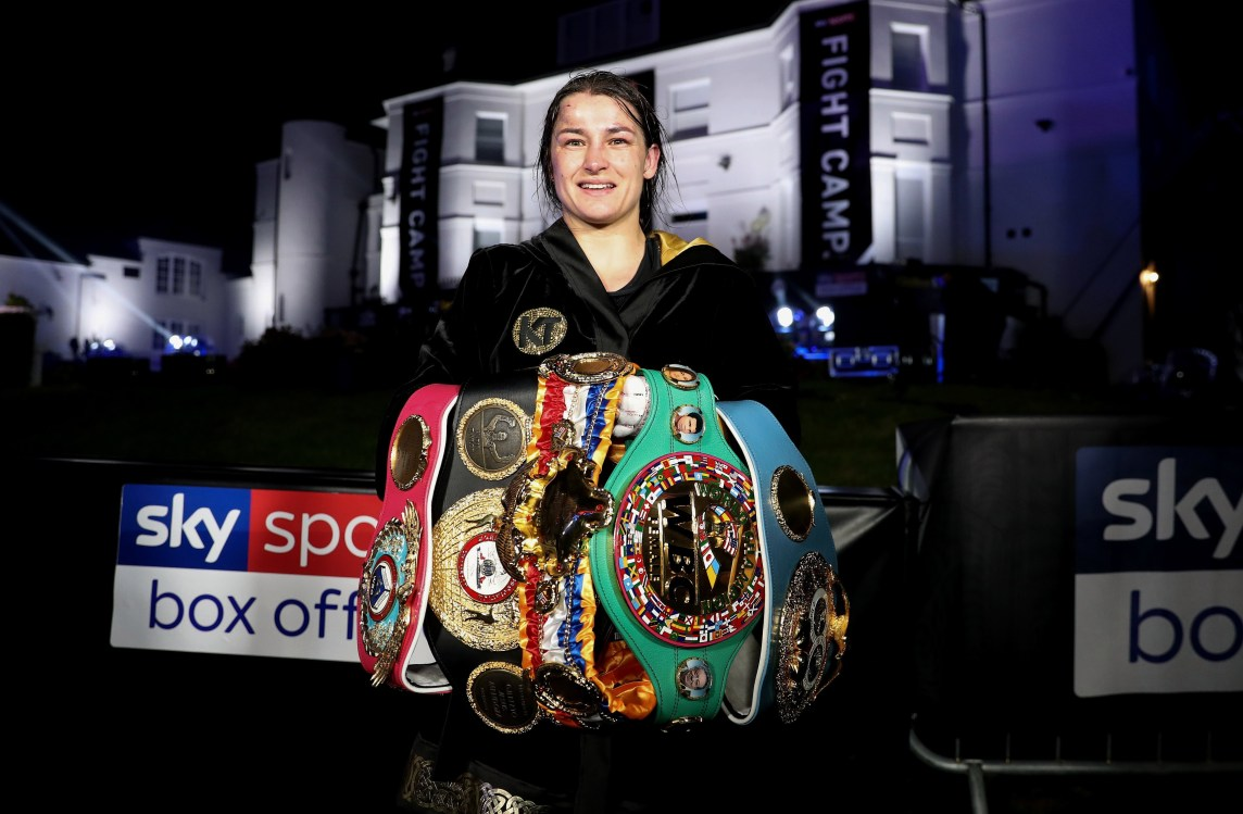 Katie Taylor Reveals Her Next Fight As She'Ll Headline Card Against Miriam Gutierrez On November 14