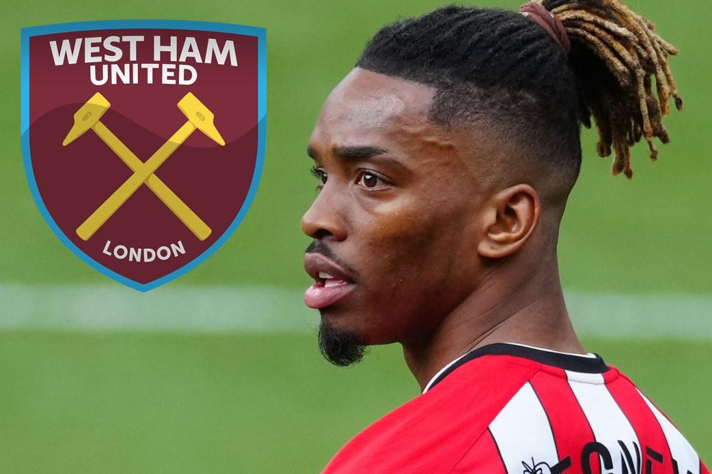 West Ham join Chelsea in Ivan Toney transfer hunt as Brentford demand £35m  for strike sensation