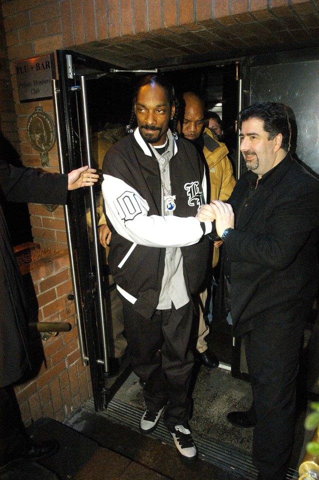 Rapper Snoop Dog paying a visit to Irish nightlife