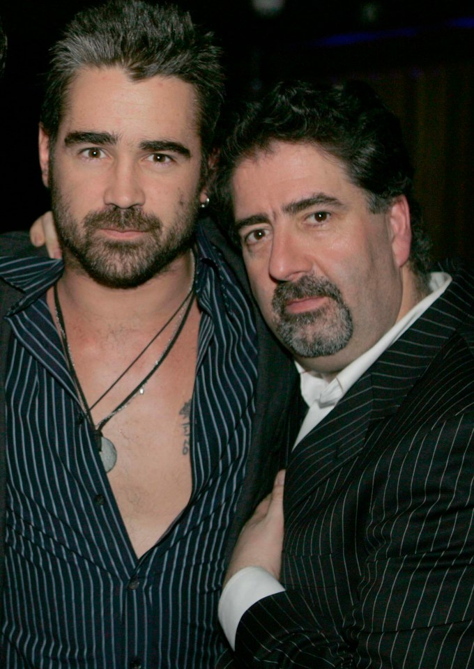 The top clubs owner brushed shoulders with Hollywood's elite, including Colin Farrell