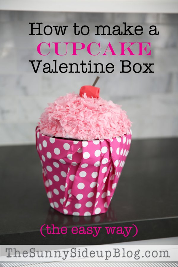 How to make a Cupcake Valentine Box (and other fun ...