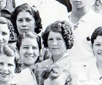 Alice LeGrande Graduation in Guthrie 1936