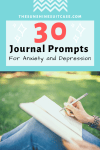 30 Amazing Journaling Prompts Anxiety and Depression