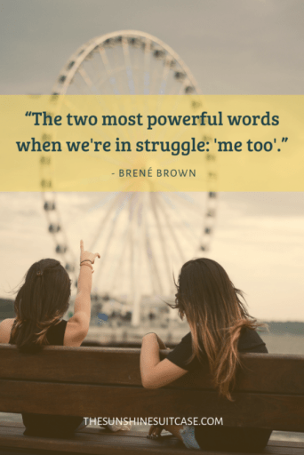 Brene Brown Mental Health Quote
